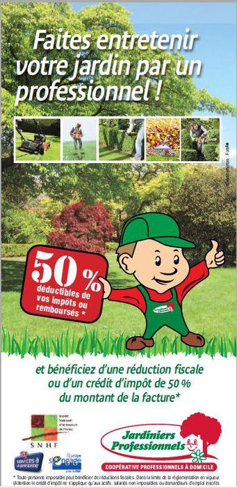 Entreprise legonidec for Entretien jardin deductible des impots